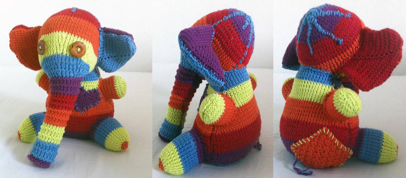 Knit Elephant by neffinesse
