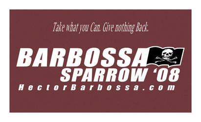 Vote Barbossa by neffinesse