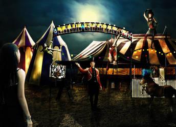 Midnight Circus by rainbow-magic