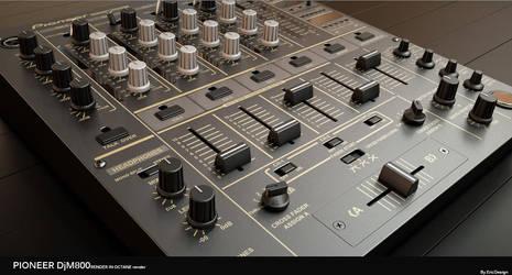 DJM800 octane render c4d by 3DEricDesign