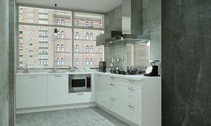 Loft Kitchen by 3DEricDesign