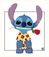 Stitch - Valentine Day by MnB89