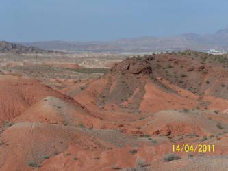 Desert Near Las Vegas by sniperct