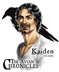 The Avian Chronicles - Kaiden by IngvildSchageArt