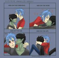 GORILLAZ: Kiss Meme by thunderjelly