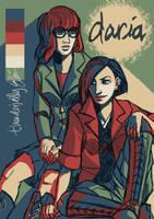 DARIAAAAA AND JAAAANE by thunderjelly