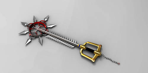 Kingdom Chakram Keyblade by DracheGott