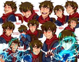 The Dragon Prince Callum REDRAWS by TaffyDesu