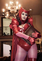 My Book - Scarlet Witch by Acid-PopTart