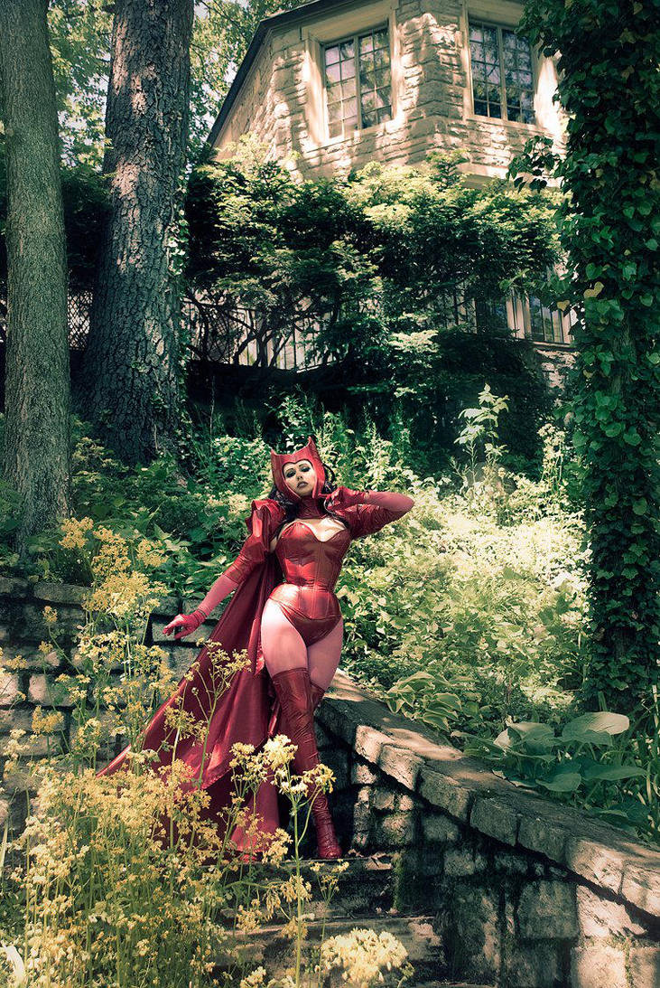 At Home with the Scarlet Witch by Acid-PopTart