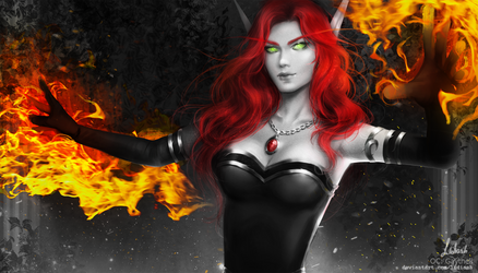[C] Pyromancer by Lidiash