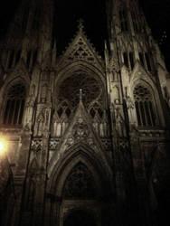 Gothic Church by SnowElfWithSun