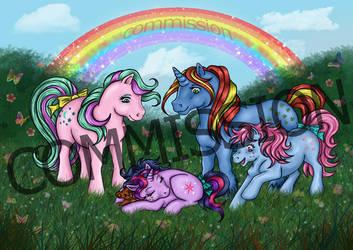 COMMISSION: My Little Pony by Psylocke83