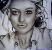 Keira Knightley by SketchyRin