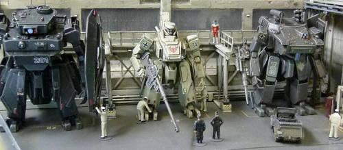Multi-leg tank :Volkswagen Type 82 by PORCO-TAKAHASHI