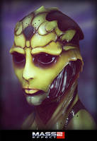 Thane Krios by laloon