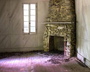 Abandone Fireplace by leftinthemiddle