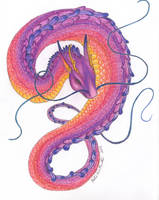 Quetzalcoatl by KatelijnVanMunster