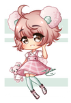 AT: Chibi for Sparkstea #1 by Jutsika