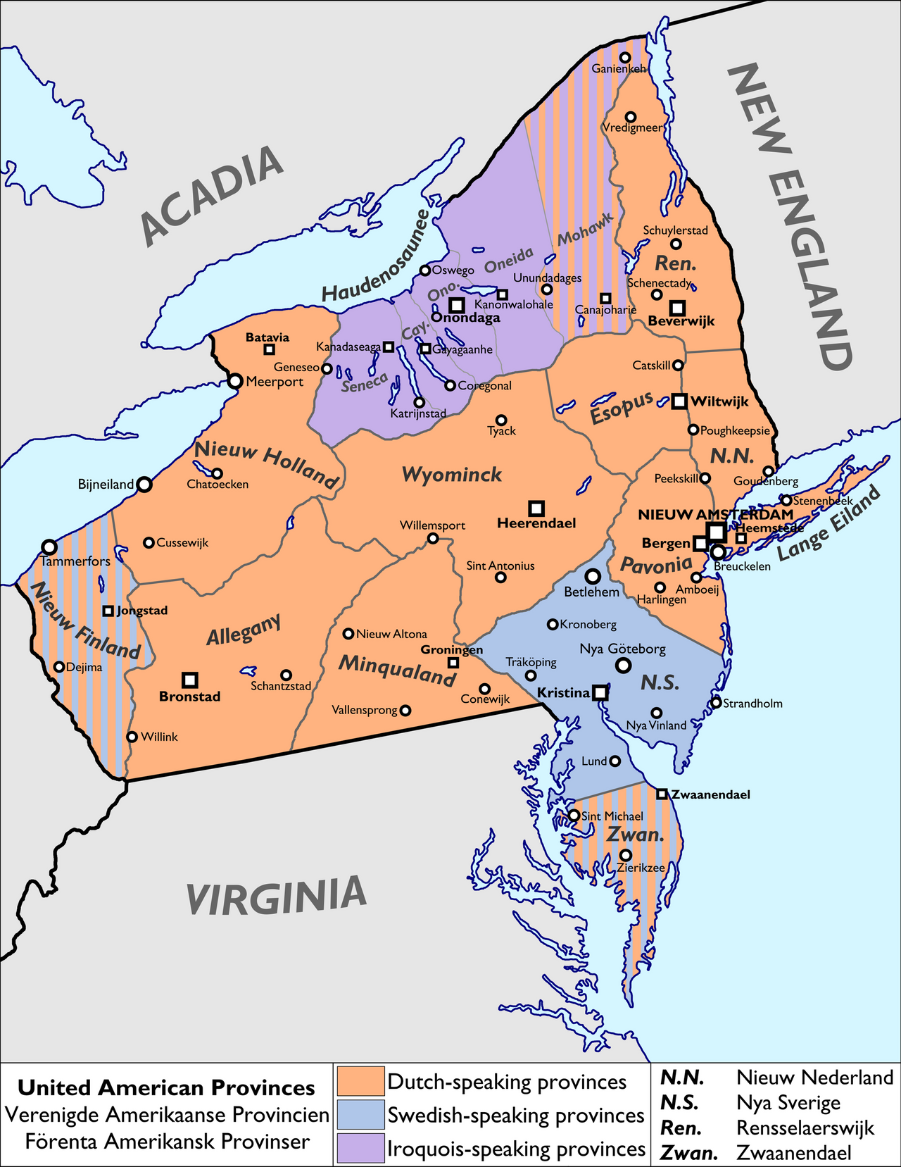 The United American Provinces by Keperry012