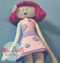 Mia Doll Ana posing by marinaaniram