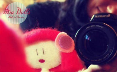 Photographing Mia Doll Ana by marinaaniram