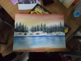 Primera Pintura by orochii-chaan