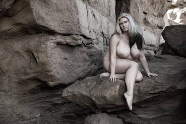 Juxtaposition in the Rocks by Ab3rration