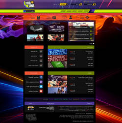 YourGame - Forum Gaming - Website Design by Adi-Shay
