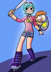 Ramona and Scott Vs the Universe by Ludensio