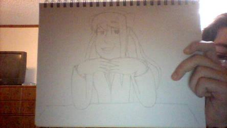 Archie Style - Monika (Doki Doki Literature Club) by Sandvich33