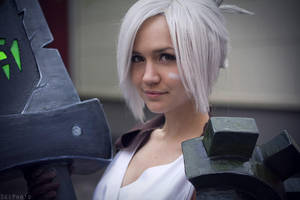 Riven. The Exile (LEAGUE OF LEGENDS) [2] by Akaomy