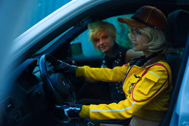Cindy Aurum \ Prompto cosplay [4] by Akaomy