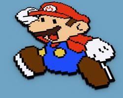 Super Mario by itsklicken