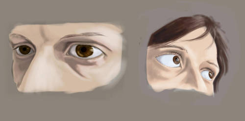eyes study by naghree