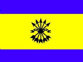 Falange Oriental Flag by goutsoullac
