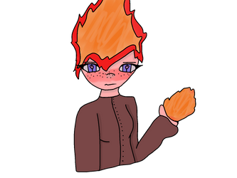 Hephaestus *Lazily Drawn* by MettatonTheFemale261