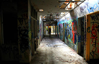 Larundel Mental Asylum VI by AirahJoyce