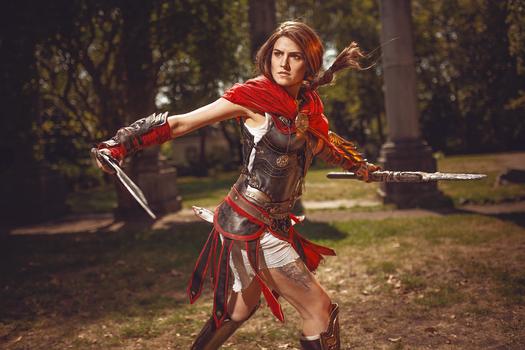 Fight like a Spartan! by MsSkunk