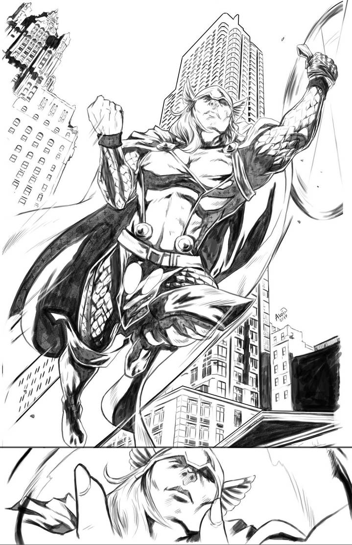 Thor sequential sample page 01 by Aldin