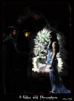 Hades + Persephone by Snow-Myth