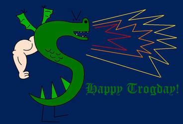 Happy 8th Trogday by Percyfan94