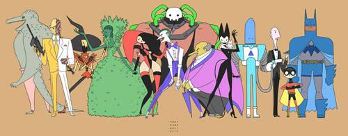 BATMAN SIMPLE by PerryMaple