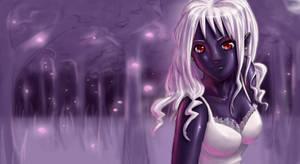 Dark Elf - Collaboration by soumakyo