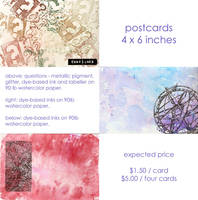 marketplace contest: postcards by yatsu