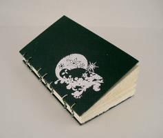 snowy owl - blank book by yatsu
