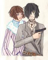 swiftsword's mafia dudes by yatsu