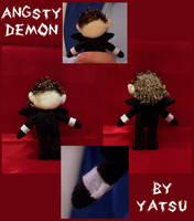 angsty demon by yatsu