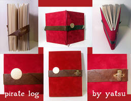 blank book - PIRATE LOG by yatsu