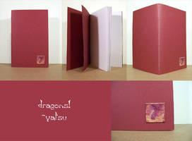 blank book - dragon by yatsu
